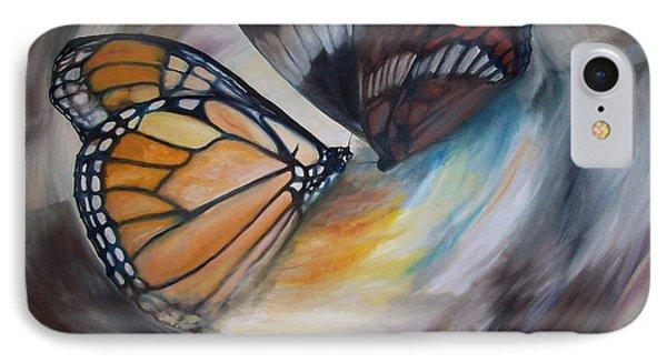 Yesterday's Butterflies IPhone Case