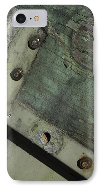 IPhone Case featuring the photograph Yesterday's Seafoam by Rebecca Sherman