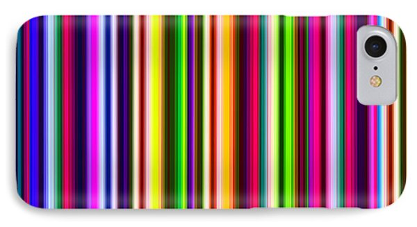 Yikes Stripes Phone Case by Ginny Schmidt