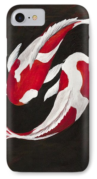 Yin And Yang IPhone Case by Darice Machel McGuire