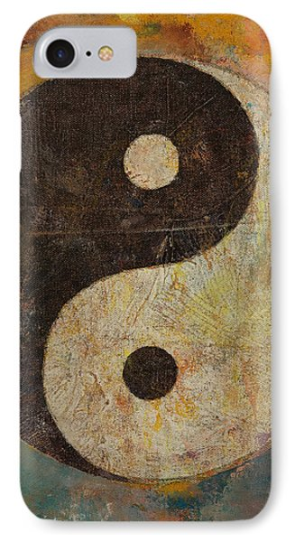 Yin Yang IPhone Case by Michael Creese