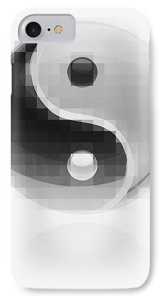 Yin Yang Mosaic IPhone Case by Daniel Hagerman