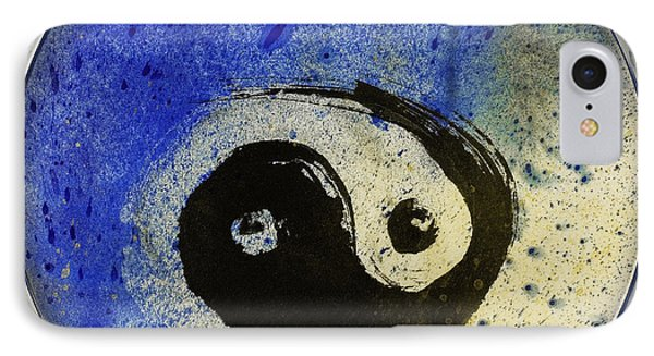 Yin Yang Painting IPhone Case by Peter v Quenter