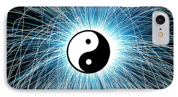 Yin Yang Phone Case by Tim Gainey
