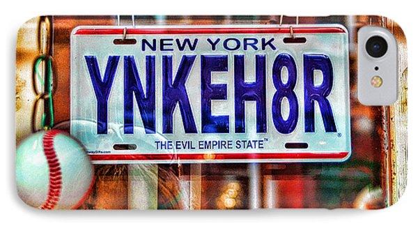 Ynkeh8r - Boston IPhone Case by Joann Vitali