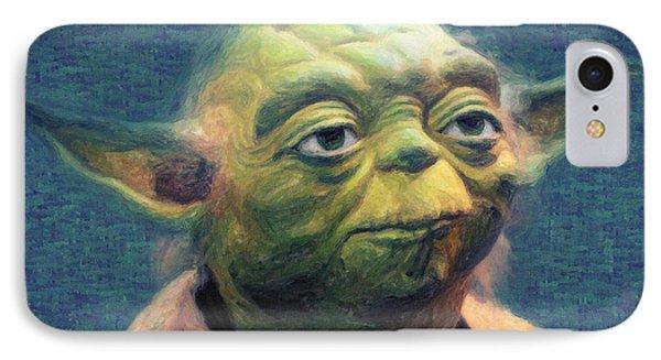 Yoda IPhone Case by Taylan Apukovska