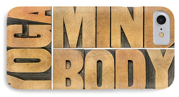 Yoga Mind And Body  IPhone Case by Marek Uliasz