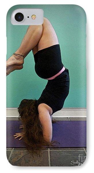 Yoga Study 10 IPhone Case by Sally Simon