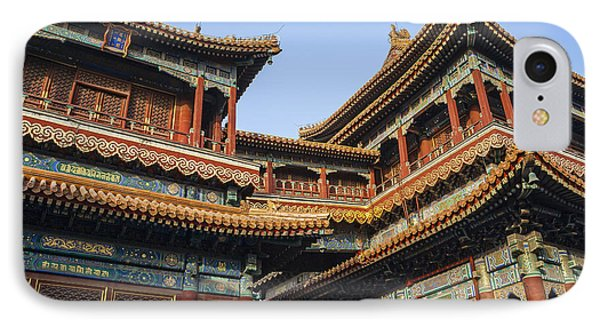 Yonghe Temple Aka Lama Temple In China IPhone Case