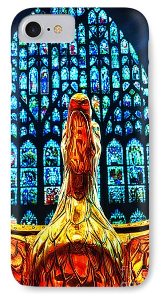IPhone Case featuring the photograph York Minster Gold Eagle by Jack Torcello