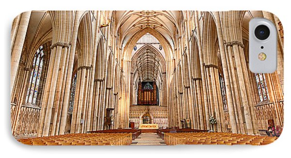 York Minster I Phone Case by Jack Torcello