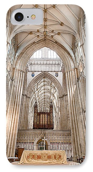 IPhone Case featuring the photograph York Minster IIi by Jack Torcello
