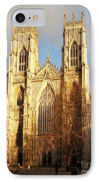 York Minster Phone Case by Neil Finnemore