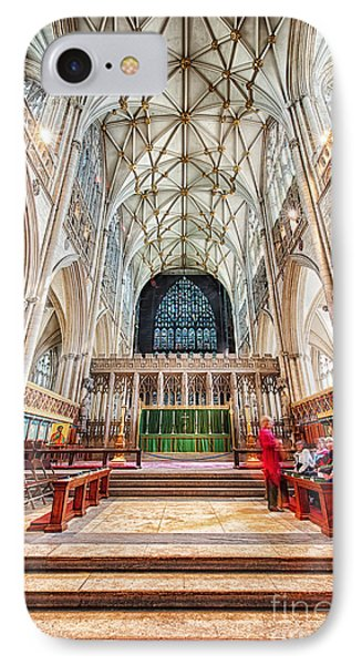 IPhone Case featuring the photograph York Minster Vi by Jack Torcello