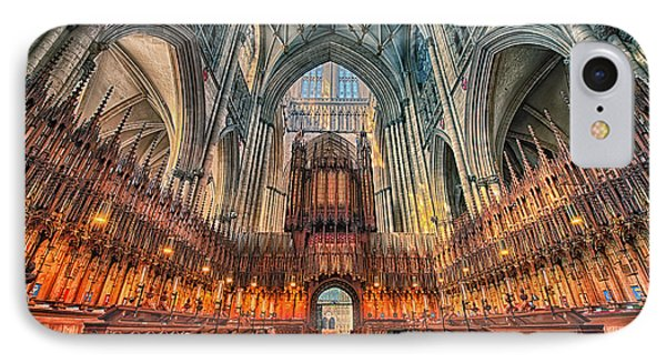 IPhone Case featuring the photograph York Minster Vii by Jack Torcello