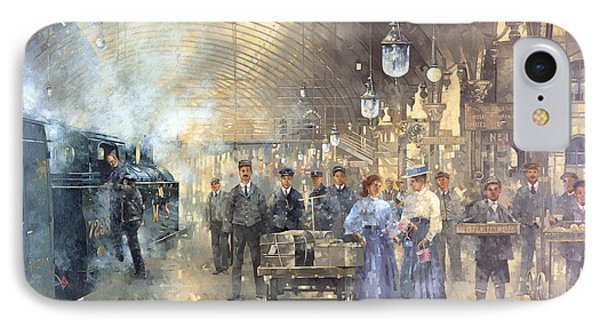 York Railway Station  IPhone Case by Peter Miller