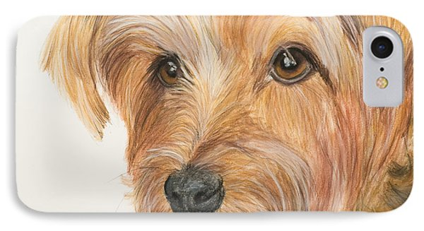 Yorkshire Terrier Face Phone Case by Kate Sumners