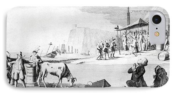 Yorktown: Cartoon, 1781 IPhone Case by Granger