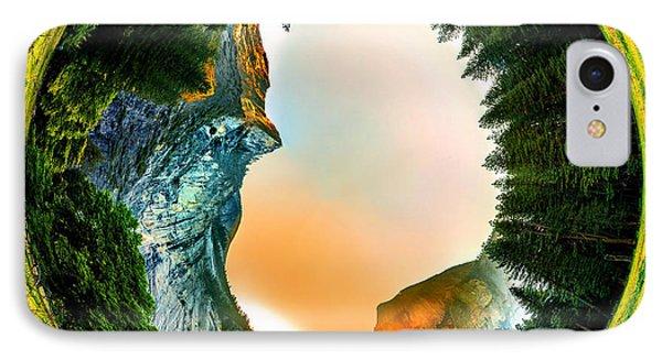 Yosemite Circagraph IPhone Case by Az Jackson