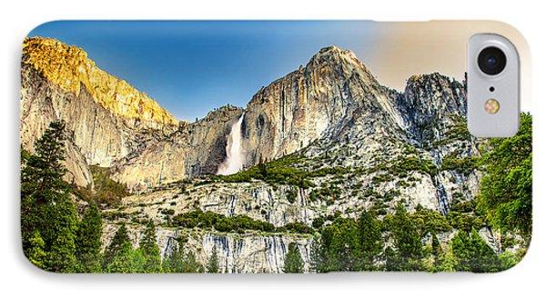 Yosemite National Park iPhone 7 Case - Yosemite Falls  by Az Jackson