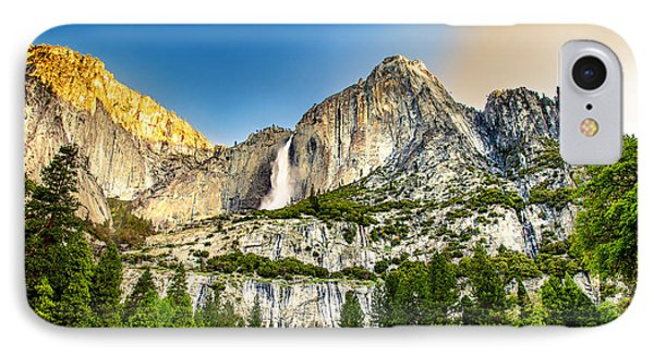 Yosemite Falls  IPhone Case by Az Jackson