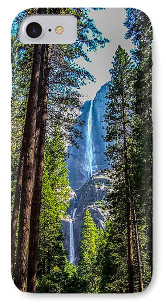 Yosemite Falls IPhone Case by Dany Lison
