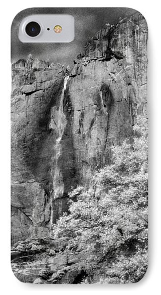 IPhone Case featuring the photograph Yosemite Falls by Mark Greenberg