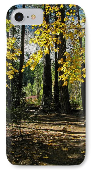 IPhone Case featuring the photograph Yosemite Fen Way by John Haldane
