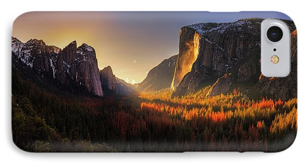 Yosemite Firefall IPhone Case