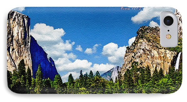 Yosemite Gods Country IPhone Case