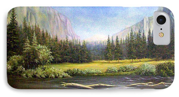 Yosemite IPhone Case by Loxi Sibley