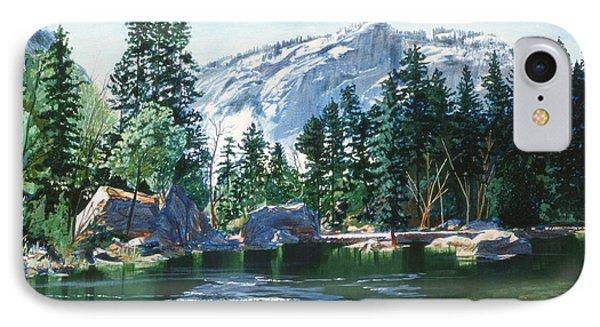 Yosemite Mirror Lake IPhone Case