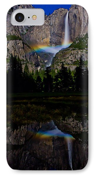Yosemite Moonbow IPhone Case by John McGraw