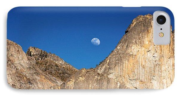 Yosemite Moonrise Phone Case by Jane Rix