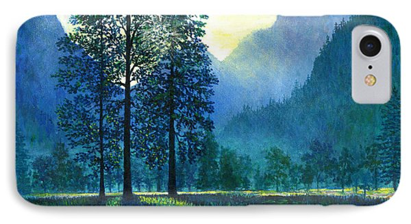 Yosemite Morning  IPhone Case by Lou Ann Bagnall