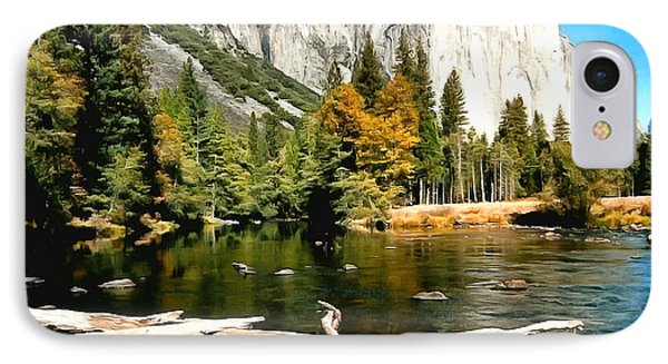 Half Dome Yosemite National Park IPhone Case by Barbara Snyder