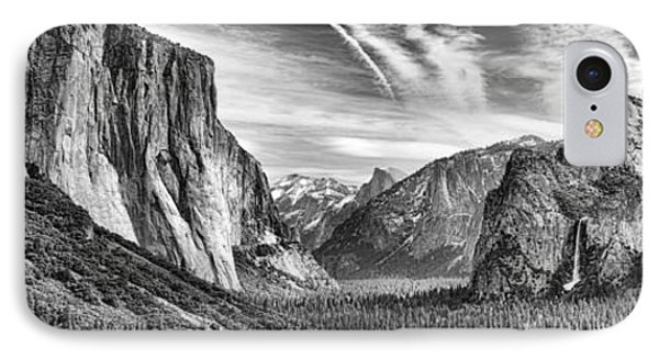 Yosemite Panoramic IPhone Case by Chuck Kuhn