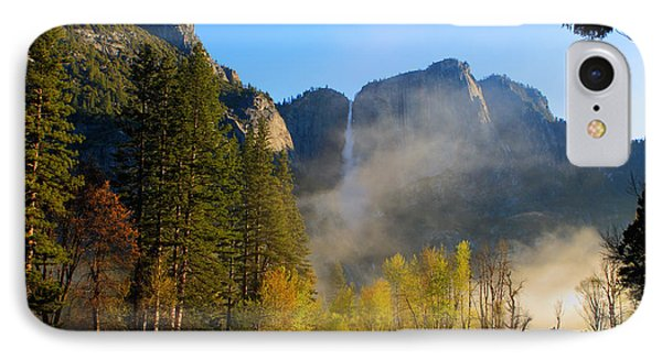 IPhone Case featuring the photograph Yosemite River Mist by Duncan Selby