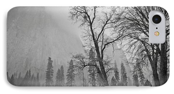 Yosemite Storm IPhone Case by Priya Ghose