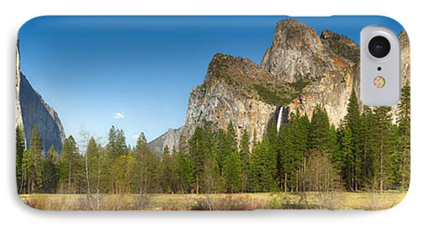Yosemite Valley And Merced River IPhone Case by Jane Rix