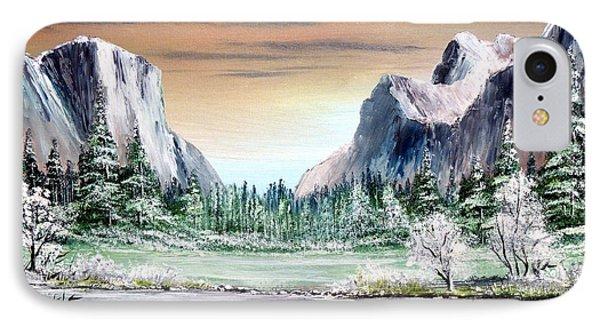 Yosemite Valley Artist Point IPhone Case by Bill Holkham