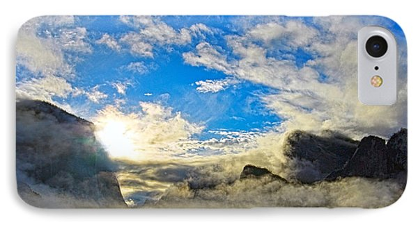 Yosemite Valley As Heaven IPhone Case