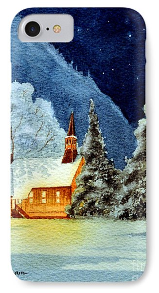 Yosemite Valley Chapel Phone Case by Bill Holkham