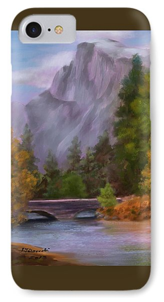 Yosemite Valley Half Dome Phone Case by Judy Filarecki