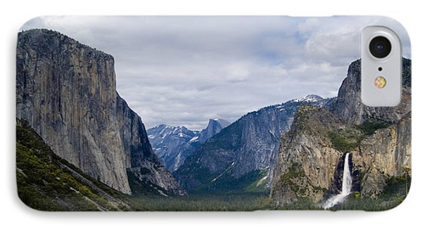 Yosemite Valley Panoramic IPhone Case by Bill Gallagher