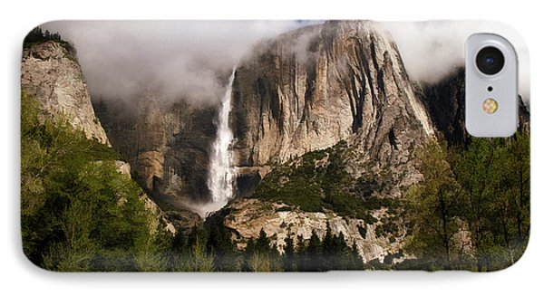 Yosemite Valley View IPhone Case by Donna Kennedy