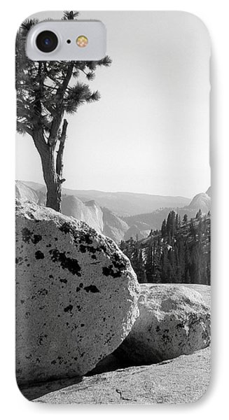 IPhone Case featuring the photograph Yosemite's Olmsted Point by Kevin Desrosiers