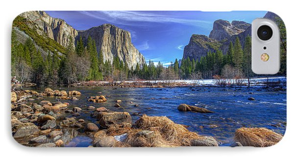 Yosemite's Valley View IPhone Case
