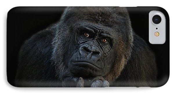 Ape iPhone 7 Case - You Ain T Seen Nothing Yet by Joachim G Pinkawa