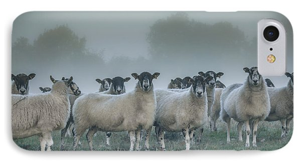 You And Ewes Army? IPhone Case by Chris Fletcher